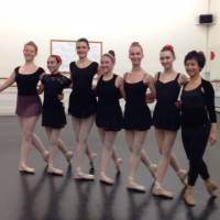 Welcome to Ballet Arts Studio! These are some of the upper school dancers in Miss Selina's variation class!